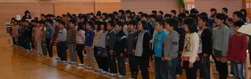 全校合唱パート練習2