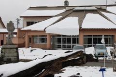 屋根の雪001