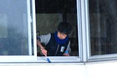 窓掃除001