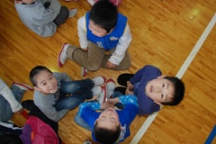 1年生を迎える会004