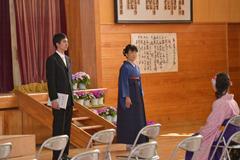 平成26年度 卒業式01