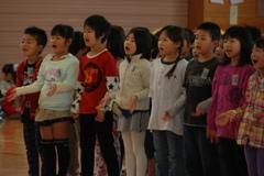 1年生を迎える会2015/02